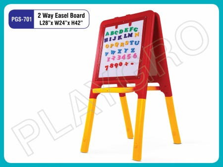 2 Way Easel Board Indoor School Play Essentials Delhi NCR