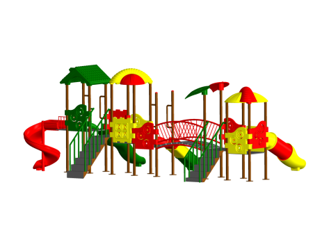 Adventure Max Playzone Outdoor Play Equipments Delhi NCR