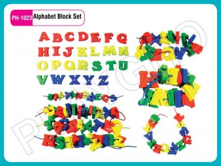 Alphabet Block Set Educational Toys Delhi NCR