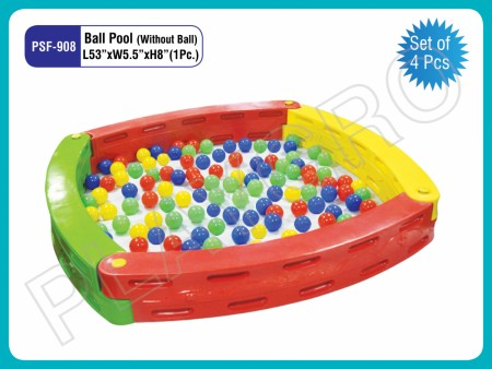 Ball Pool (Without Ball 4 Pcs Set) Indoor School Play Essentials Delhi NCR