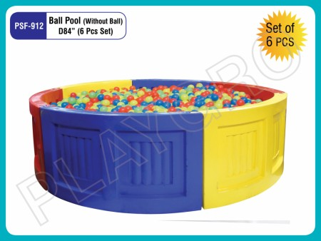 Ball Pool (Without Ball 6 Pcs Set) Indoor School Play Essentials Delhi NCR