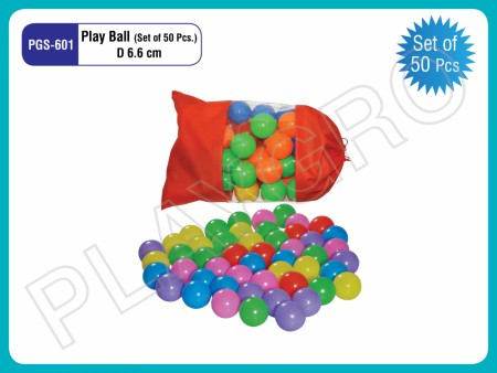 Balls (50 Pcs/Set) -6.6CM Indoor School Play Essentials Delhi NCR