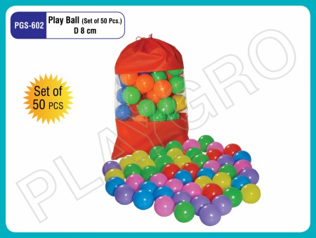 Balls (50 Pcs/Set) -8CM Indoor School Play Essentials Delhi NCR
