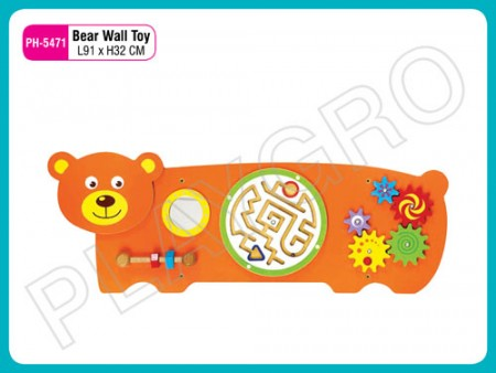 Bear Wall Toy Activity Toys Delhi NCR