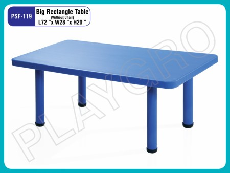 Big Rectangle Table Junior School Furniture Delhi NCR