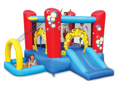 Bubble 4 In 1 Playcenter Outdoor Play Equipments Delhi NCR