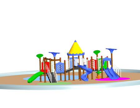 Castle Adventure Centre Outdoor Play Equipments Delhi NCR