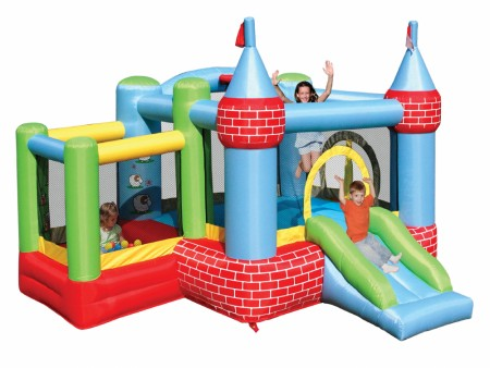 Castle Bouncer & Ballpit Outdoor Play Equipments Delhi NCR