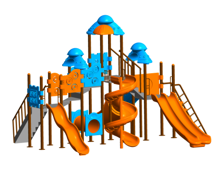 Castle Maxi Playzone Outdoor Play Equipments Delhi NCR
