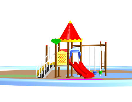 Castle Play Max Outdoor Play Equipments Delhi NCR