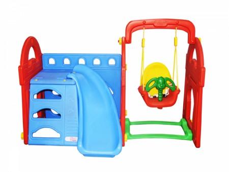 Best Castle Sports Playcentre - Slides- swing Combo Manufacturer in Delhi NCR
