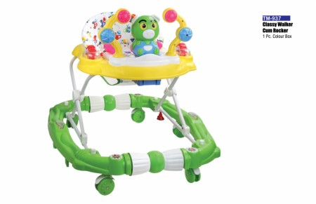 Classy Walker Cum Rocker Light Yellow Green Walker Delhi NCR