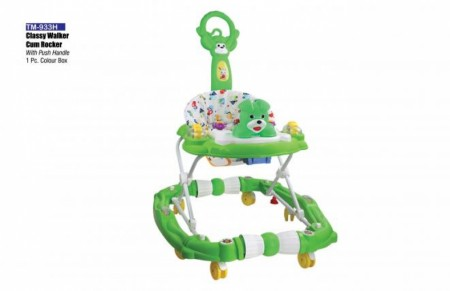 Classy Walker Cum Rocker With Push Handle Green Walker Delhi NCR