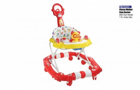 Classy Walker Cum Rocker With Push Handle Red Yellow Walker Delhi NCR