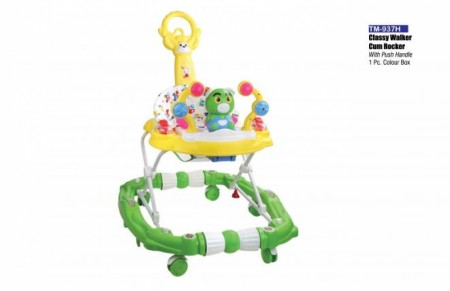 Classy Walker Cum Rocker With Push Handle Yellow Green Walker Delhi NCR
