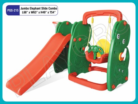 Elephant Slide W Swing Indoor Play Equipments Delhi NCR