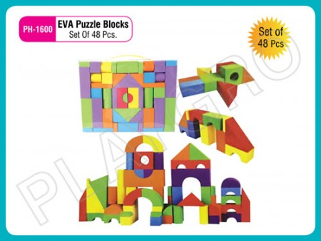 Eva Puzzle Blocks (48Pcs/Set) Activity Toys Delhi NCR