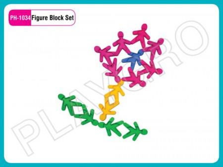 Figure Block Set Educational Toys Delhi NCR