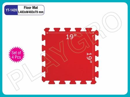 Floor Mats (Set Of 4 Pcs.) Play Mats Delhi NCR