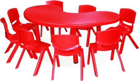 Front Round Table Junior School Furniture Delhi NCR