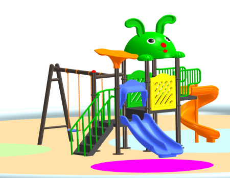 Fun N Slide Playcentre Outdoor Play Equipments Delhi NCR