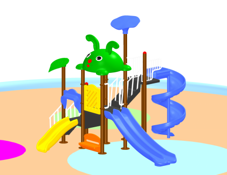 Fun Playcentre Sr Outdoor Play Equipments Delhi NCR