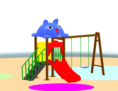 Fun Swing N Slide Outdoor Play Equipments Delhi NCR