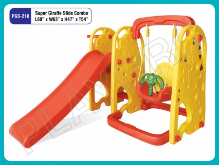 Giraffe Slide W Swing Indoor Play Equipments Delhi NCR