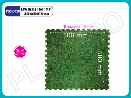 Grass Mats Set of 4-Pcs Indoor Floor Mats Delhi NCR