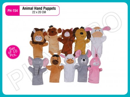 Hand Puppet (Set Of 10 Pcs) Activity Toys Delhi NCR