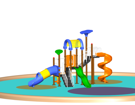 Hop N Slide Playcentre Outdoor Play Equipments Delhi NCR