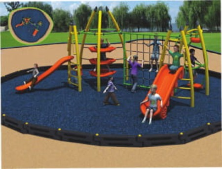 Jr. Modern Scrambler Outdoor Play Equipments Delhi NCR
