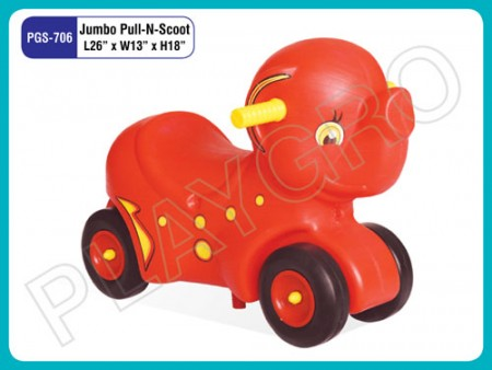 Jumbo Pull N Scoot Ride on & Rockers Delhi NCR