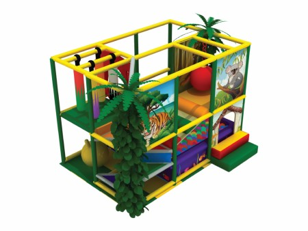 Jungle Fun Yellow Outdoor Play Equipments Delhi NCR