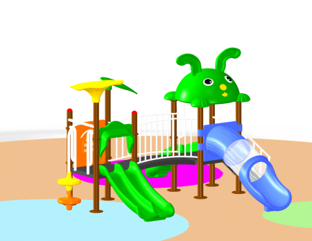 Jungle Playcentre Outdoor Play Equipments Delhi NCR