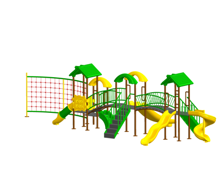 Jungle Rumble Playzone Outdoor Play Equipments Delhi NCR