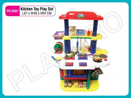 Kitchen Toy Play Set Red N Blue Activity Toys Delhi NCR