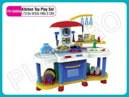 Kitchen Toy Play Set White N Blue Activity Toys Delhi NCR