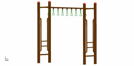 Loop Rung Outdoor Play Equipments Delhi NCR