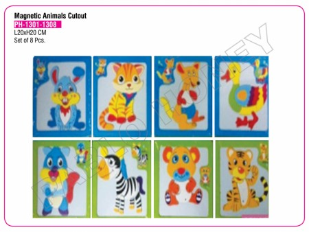 Magnetic Animals Cutout Activity Toys Delhi NCR