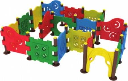 Maze Chase Outdoor Play Equipments Delhi NCR