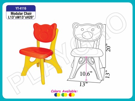 Modular Chair School Furniture Delhi NCR