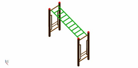 Monkey Bar Outdoor Play Equipments Delhi NCR
