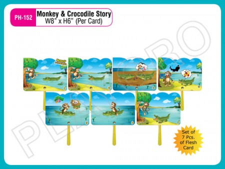 Monkey & Crocodile Story Activity Toys Delhi NCR