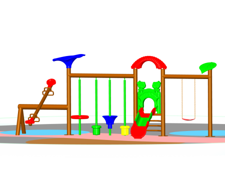 Multi  Activity Maxi Centre Outdoor Play Equipments Delhi NCR