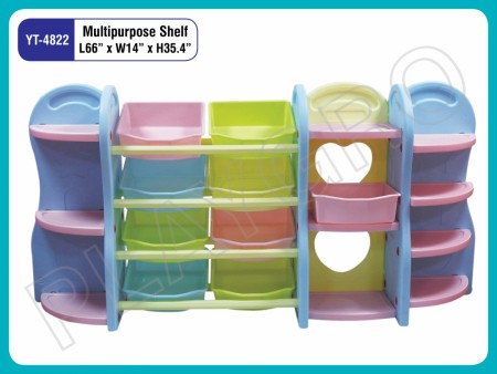Multipurpose Shelves - Multipurpose Indoor School Play Essentials Delhi NCR