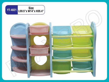 Multipurpose Shelves - With - 11- Shelves Indoor School Play Essentials Delhi NCR