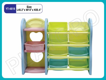 Multipurpose Shelves - With - 2 - Sections Indoor School Play Essentials Delhi NCR