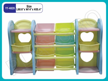 Multipurpose Shelves - With - 3 Sections Indoor School Play Essentials Delhi NCR