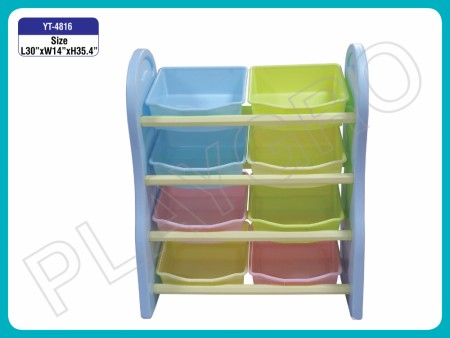 Multipurpose Shelves - With -4 Shelves - Multi color Indoor School Play Essentials Delhi NCR